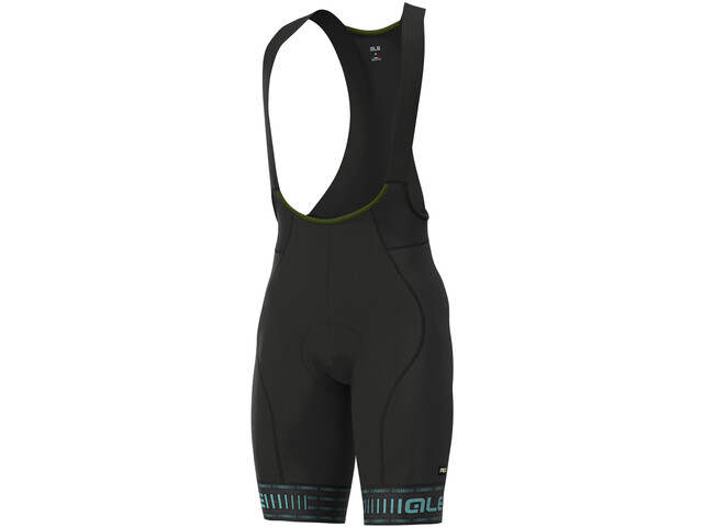 Alé Cycling Graphics PRR Green Road Short de cyclisme Homme, black/turquoise